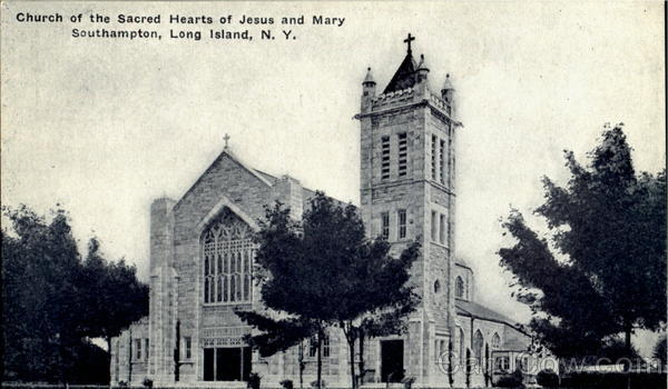 Church Of The Sacred Hearts Of Jesus And Mary Long Island New York
