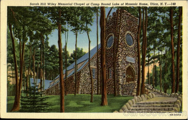 Sarah Hill Wiley Memorial Chapel At Camp Round Lake Of Masonic Home Utica New York