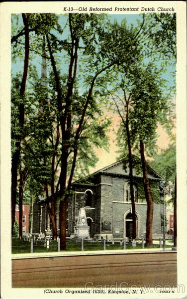 Old Reformed Protestant Dutch Church Kingston New York