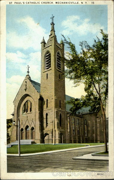 St. Paul'S Catholic Church Mechaniville New York