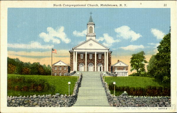 North Congregational Church Middle Town New York