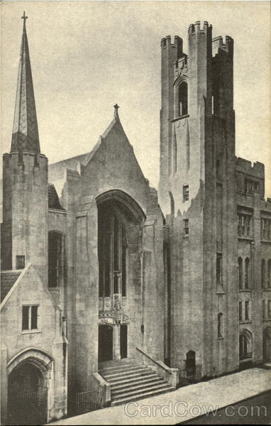 St. Luke's Lutheran Church (Albert L. Leibacher, Pastor - The lutheran Church of Times Square) New York City