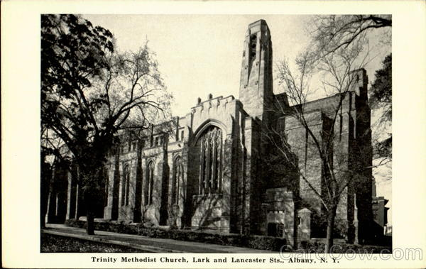Trinty Methodist Church, Lark And Lancaster Sts. Albany New York