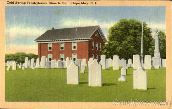 Cold Spring Presbyterian Church Near Cape May New Jersey