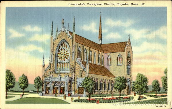 Immaculate Conception Church Holyoke Massachusetts