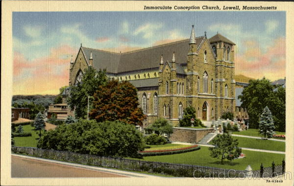 Immaculate Conception Church Lowell Massachusetts