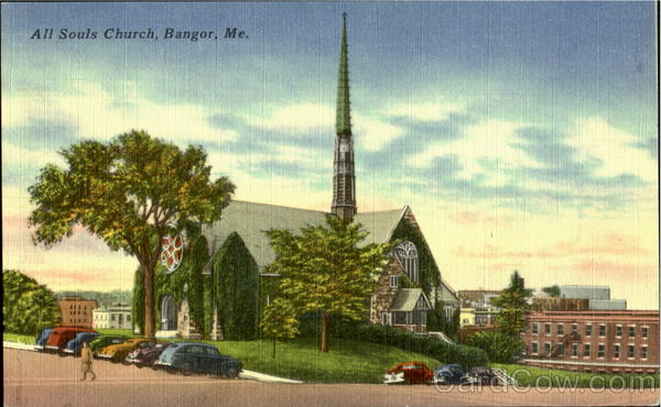 All Souls Church Bangor Maine