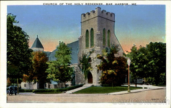 Church of The Holy Redeemer Bar Harbor Maine