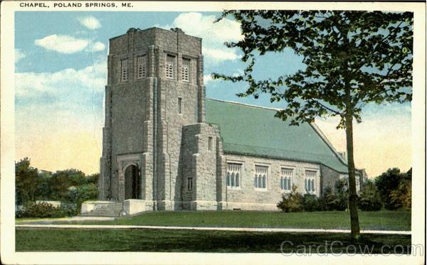 Chapel Portland Springs Maine