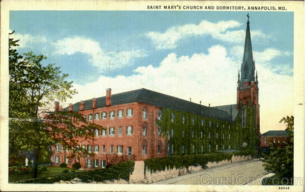 Saint Mary'S Church And Dormitory Annapolis Maryland