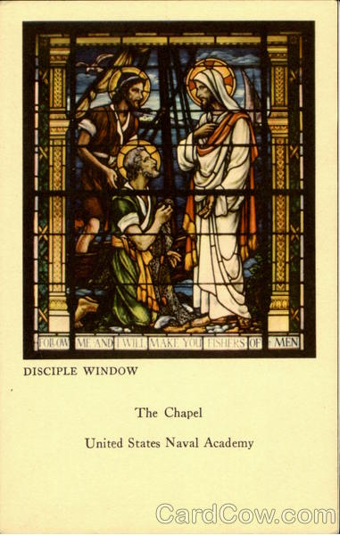 Disciple Window, The Chapel, United States Naval Academy Annapolis Maryland