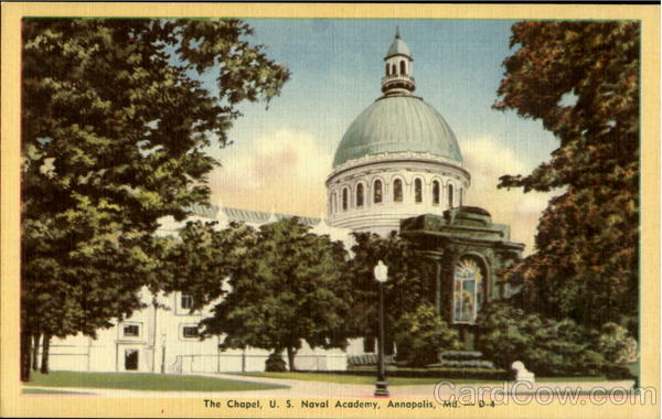 The Chapel, U.S. Naval Academy Annapolis Maryland