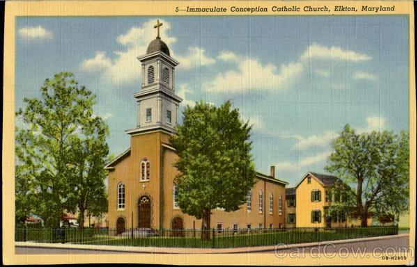 Immaculate Conception Catholic Church Elkton Maryland