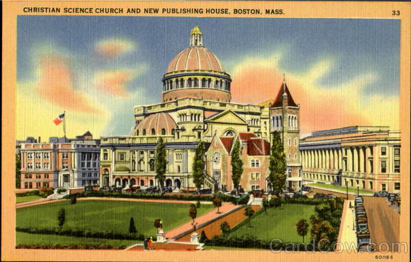 Christian Science Church And New Publishing House Boston Massachusetts