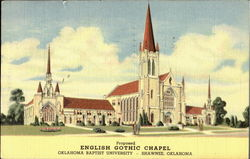 English Gothic Chapel/Oklahoma Bapist University