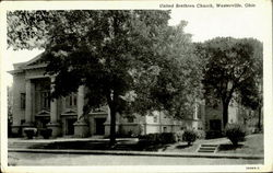 United Brethren Church Postcard