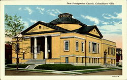First Presbyterian Church Postcard