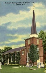St. Paul's Episcopal Church, Erected 1736
