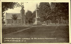 Free Baptist Church & Soldier'S Monument
