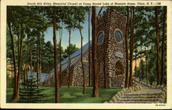 Sarah Hill Wiley Memorial Chapel At Camp Round Lake Of Masonic Home