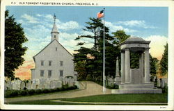 The Old Tennent Presbyteian Church Postcard