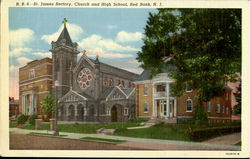 St. James Rectory, Church And High School