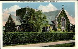 St. George Episcopal Church, Rumson Postcard