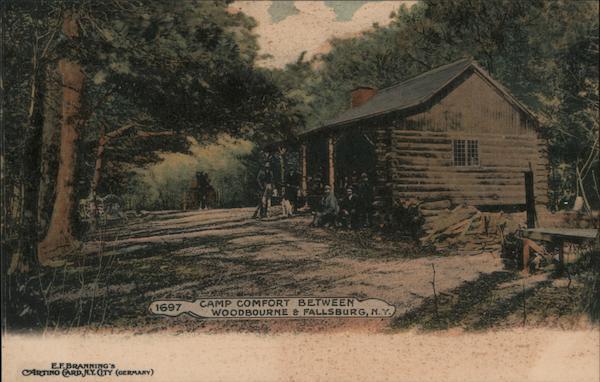 Camp Comfort Between Woodbourne & Fallsburg New York