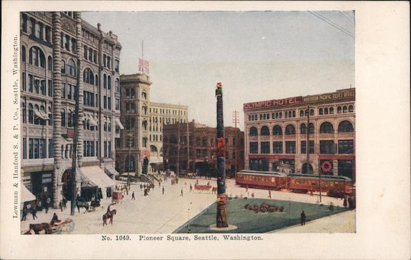 Pioneer Square Seattle Washington