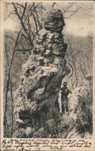 Balanced Rock Columbia Missouri