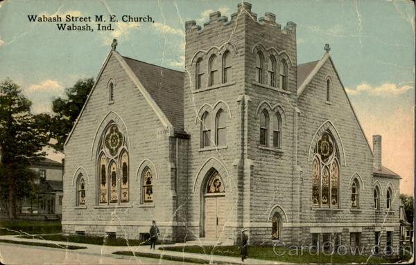 Walbash Street M. E. Church Wabash Indiana