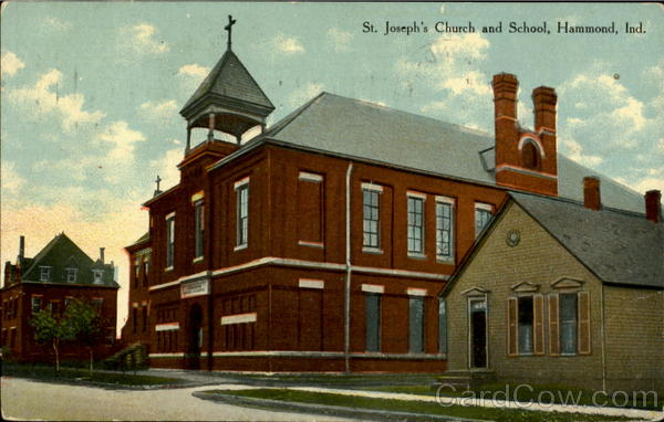 St. Joseph's Church and School Hammond Indiana