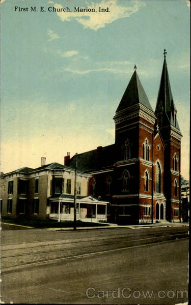 First M. E. Church Marion Indiana