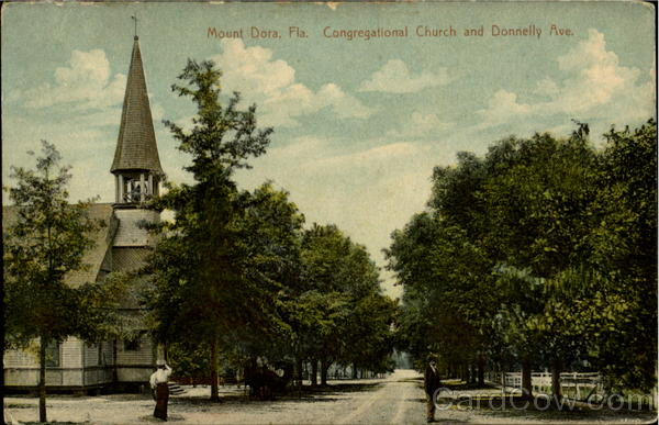 Congregational Church And Donelly Ave Mount Dora Florida