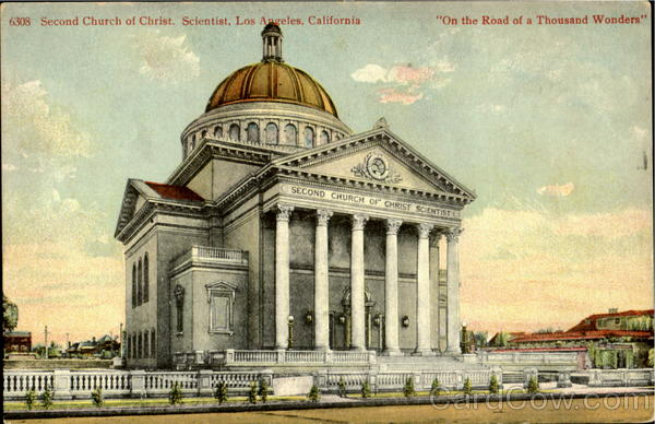 Second Church Of Christ. Scientist  On The Road Of A Thousand Wonders  Los Angles California