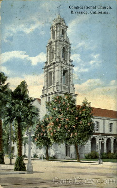 Congregational Church Riverside California