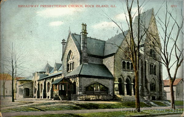 Broadway Presbyterian Church Rock Island Illinois