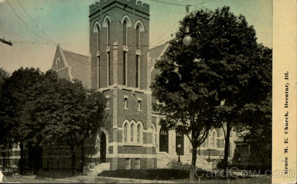 Grace M. E. Church Decatur Illinois