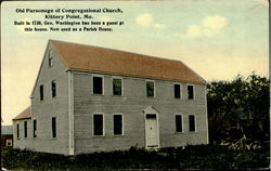 Old Parsonage Of Congregational Church