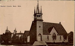 Bapist Church Postcard