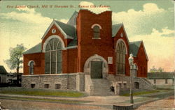 First Baptist Church, Mill & Shawnee Sts