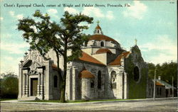 Christ'S Episcopal Church, Corner Of Wright And Palafax Streets