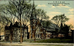 Y. M. C. and First Congregational Church
