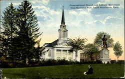 Congregational Church and Soldier's monument, Memorial park