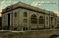 Ottawa M. E. Church Postcard