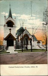 Central Presbyterian Church Postcard