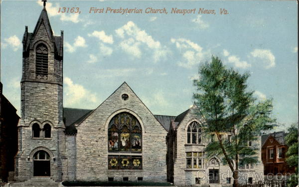 First Presbyterian Church Newport News Virginia