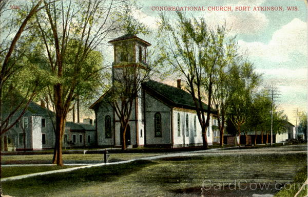 Congregational Church Fort Atkinson Wisconsin