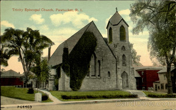 Trinity Episcopal Church Pawtucket Rhode Island