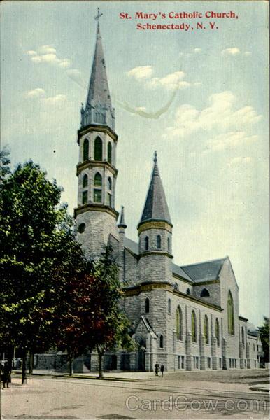 St. Mary'S Catholic Church Schenectady, NY